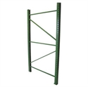 "Picture of Wireway/Husky Invincible Pallet Rack Upright Frames IU18: 48"" x 96"" Upright"