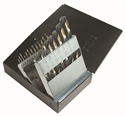 Picture of NO15-57810 21PCS Black & Gold Drill Bit Set - Mechanics Length - Split Point - SPM-21 Norseman