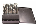 Picture of NO15-92400 8PCS Black & Gold Drill Bit Set - Silver & Demming  - Spiral  Point -S&D-8SP Norseman