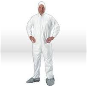 Picture of 53053 Shieldtech 35 Hood and Boot Disposable Coverall
